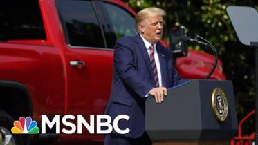 Phil Rucker: Trump's Interview With Fox 'Was Not A Comfortable Interview' | Stephanie Ruhle | MSNBC 6