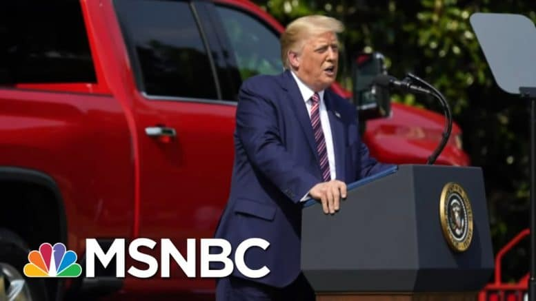 Phil Rucker: Trump's Interview With Fox 'Was Not A Comfortable Interview' | Stephanie Ruhle | MSNBC 1