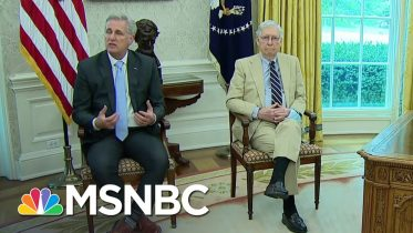 GOP Leaders, Trump Forming Relief Bill With Focus On Getting People Back To Work | MSNBC 6