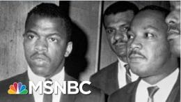 The Legacy Of Civil Rights Icon John Lewis In The Words Of A Fellow Andrew Young | MTP Daily | MSNBC 8