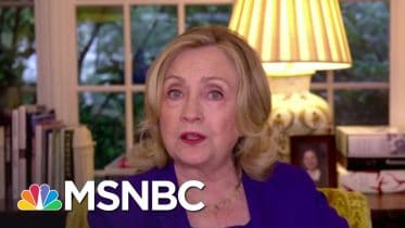 Clinton: Trump's Strategy Is To 'Sow Further Distrust In Our Election System' | The ReidOut | MSNBC 6