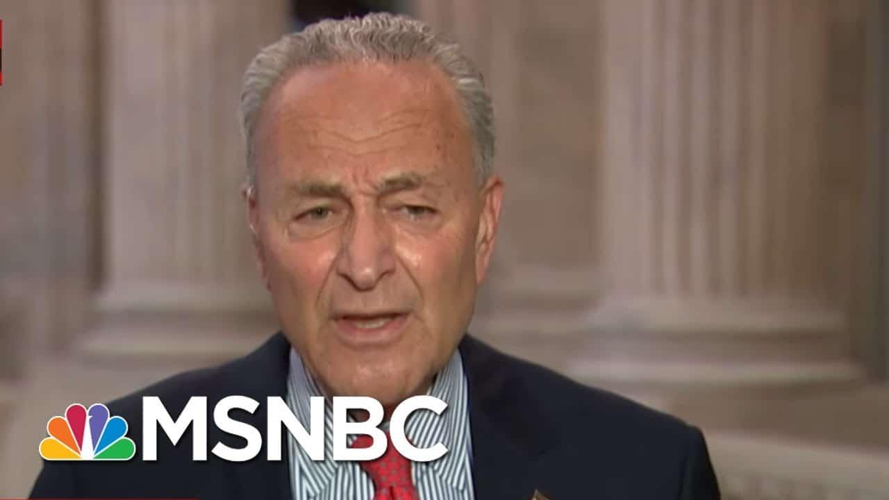 'Trump Has Put His Head In The Sand': Schumer Rips U.S. Coronavirus Response   All In   MSNBC 1