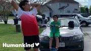 Teen sees bright colors for the first time | Humankind 5