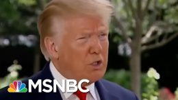 Trump Again Said He Hopes Coronavirus Will 'Disappear' | Morning Joe | MSNBC 5