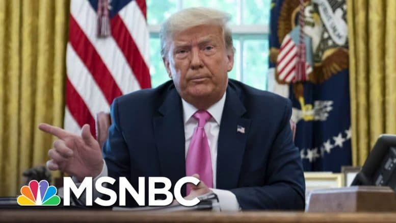 Trump Reviving COVID-19 Briefings After Suggesting Ingesting Disinfectant | The 11th Hour | MSNBC 1