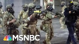 Trump Threatens Cities With Feds After Violence Against Portland Protesters | The 11th Hour | MSNBC 1