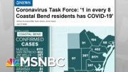 Extremity Of Texas COVID-19 Curve Puts Hospital ICUs In A Bind | Rachel Maddow | MSNBC 5