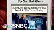 Trump To Resume Televised Coronavirus Briefings Today | Morning Joe | MSNBC 5