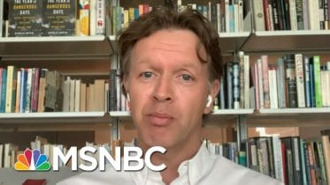 Nicholas Griffin's 'The Year Of Dangerous Days' | Morning Joe | MSNBC 6