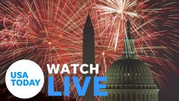 "President Trump hosts ""2020 Salute to America"" (LIVE) | USA TODAY 3"