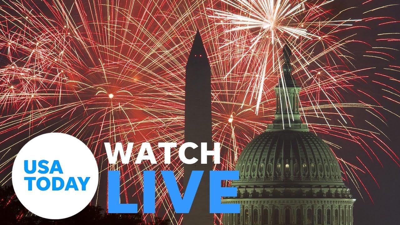 "President Trump hosts ""2020 Salute to America"" (LIVE) | USA TODAY 1"