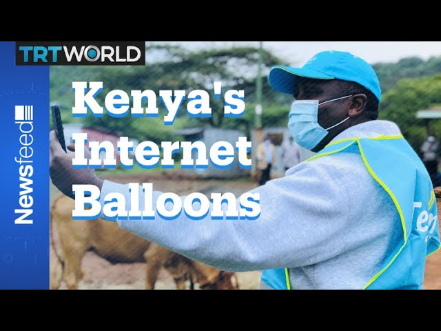 Kenya Gets 4G 'Loon' Balloons From Alphabet 1