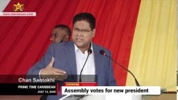 SURINAME ASSEMBLY VOTES FOR NEW PRESIDENT 1