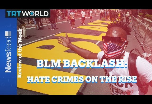 A rise in hate crimes reported. Is it the evidence of the inevitable backlash from BLM uprising? 1