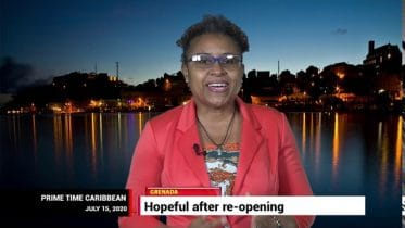 GRENADA'S TOURISM MINISTER Clarice Modeste on PRIME TIME CARIBBEAN 6