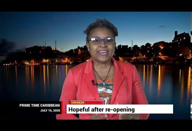 GRENADA'S TOURISM MINISTER Clarice Modeste on PRIME TIME CARIBBEAN 1