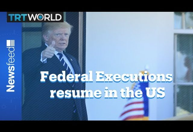 US resumes federal executions after 17 years 1