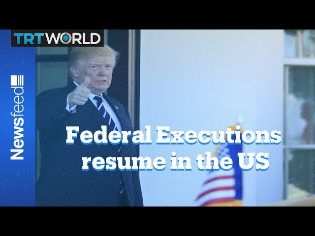 US resumes federal executions after 17 years 6