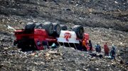 Three people are dead after an Alberta glacier tour bus rolled over 3