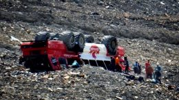 Three people are dead after an Alberta glacier tour bus rolled over 2