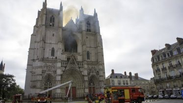 A fire that damaged a centuries-old cathedral in Nantes, France, is the subject of an arson probe. 6