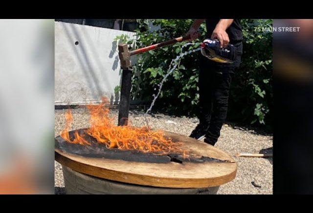 Resto owner burns table where Epstein, Weinstein, dined 1