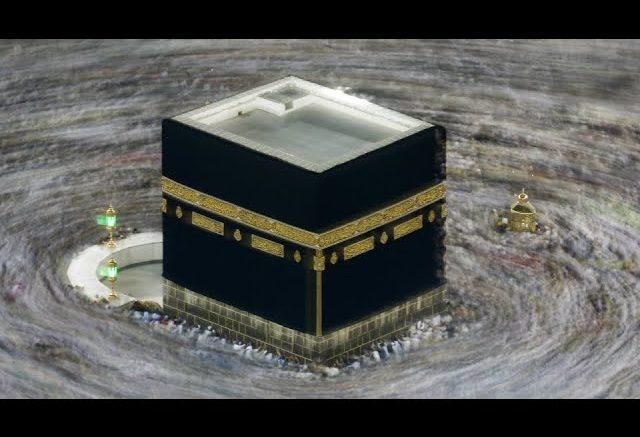 Small group of Muslims converge on Mecca for Hajj 2020 1