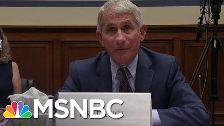 Fauci Cautiously Optimistic To Have A Safe Coronavirus Vaccine By Late Fall And Early Winter | MSNBC 1