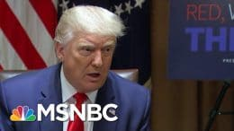 President Donald Trump Continues To Undermine Legitimacy Of 2020 Election | MTP Daily | MSNBC 1