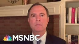 Rep. Schiff Reacts to Trump Calling Bounty Reports A 'Russia Hoax' | The Last Word | MSNBC 6