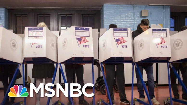 Voter Suppression Still Occurs, 55 years After Voting Rights Act | The Last Word | MSNBC 1