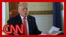 Trump fumbles over death toll numbers after being pressed in interview 7