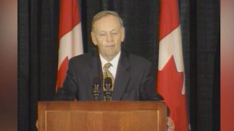 Aug. 19, 2003: Jean Chretien vows to press on with same-sex marriage laws in caucus speech 1
