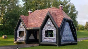 Edmonton company will deliver a blow-up pub to your backyard 6