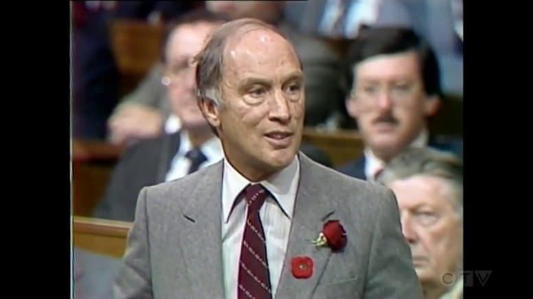 Nov. 5, 1981: Pierre Trudeau gives an update on the Canadian Charter of Rights and Freedoms 1