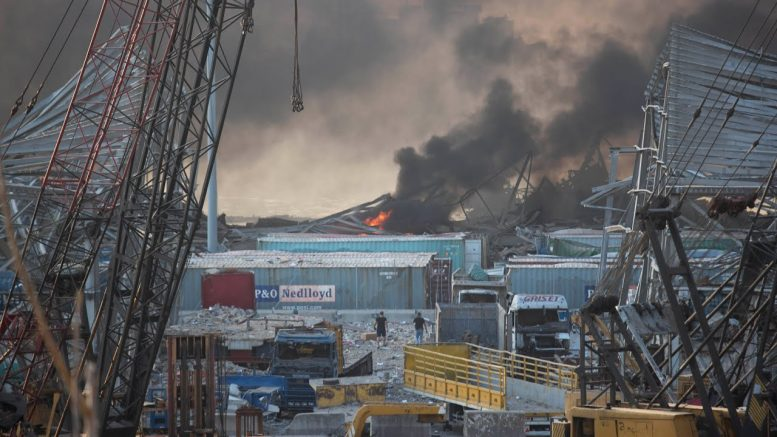 Port explosion could be 'catastrophic' for Lebanon's crippled economy says expert 1