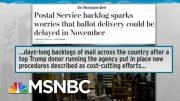 Fallacy Of Trump Mail Voting Criticism Exposed By Colorado Success | Rachel Maddow | MSNBC 5