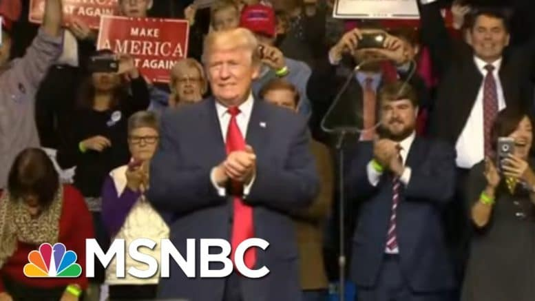 Trump's Red State Presidency Leaves U.S. Without Unifying Leadership | Rachel Maddow | MSNBC 1