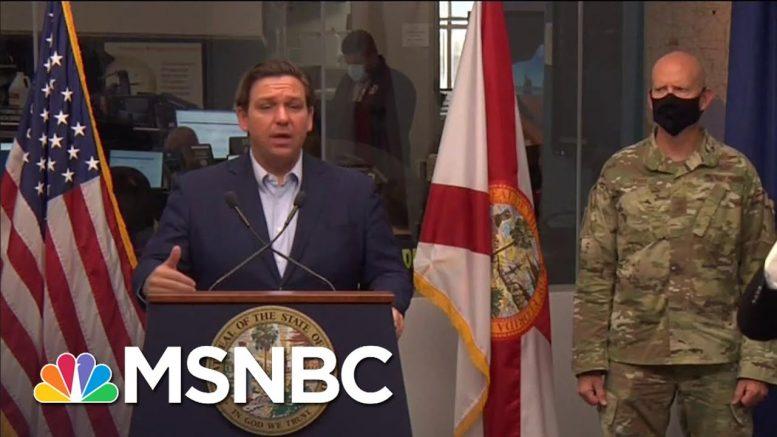 Gov. DeSantis Urges Floridians To Take Hurricane Isaias 'Seriously' | MSNBC 1