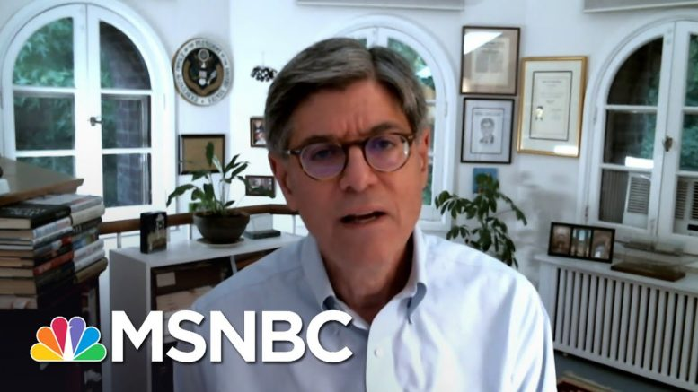 Former U.S. Treasury Secretary: GOP Relief Bill Is 'Grossly Inadequate' | MSNBC 1