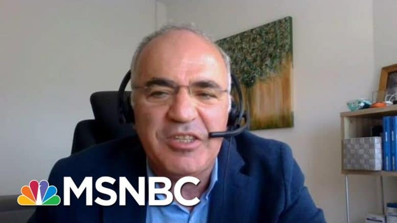 Kasparov: Authoritarians Come Up With Things We Can't Imagine | Morning Joe | MSNBC 1