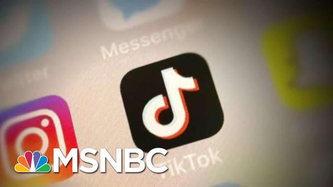 Trump TikTok Threat Could Motivate Young People To Vote | Hallie Jackson | MSNBC 3