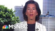 RI Governor Announces Back To Work Initiative | Stephanie Ruhle | MSNBC 3