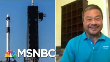 Former Astronaut Leroy Chiao Discusses Astronauts' Historic Return To Earth | MSNBC 10