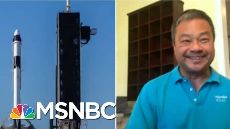 Former Astronaut Leroy Chiao Discusses Astronauts' Historic Return To Earth | MSNBC 1