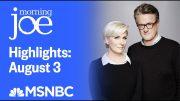 Watch Morning Joe Highlights: August 3rd | MSNBC 2