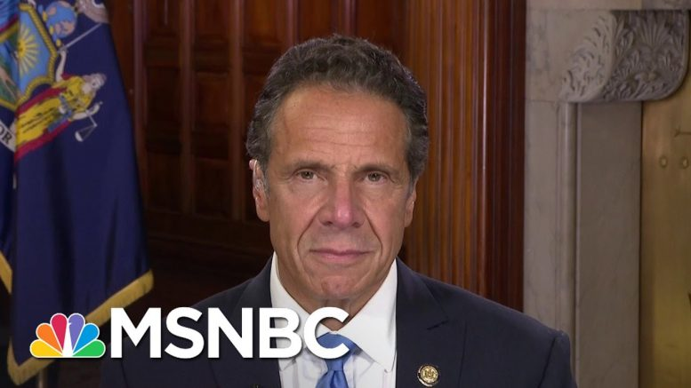 Gov. Cuomo: 'Nation Learned Nothing' From New York Spike In Cases | MSNBC 1
