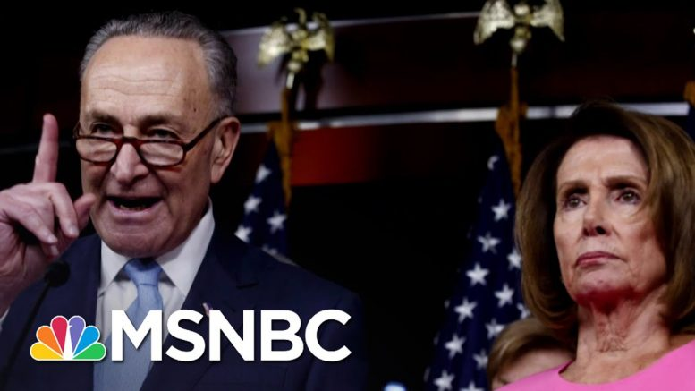 White House Resumes Relief Talks With Democratic Leaders   MSNBC 1