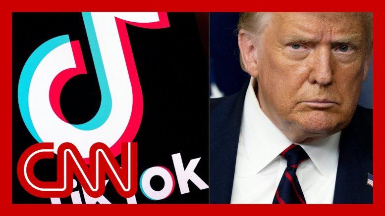 Trump signs order banning TikTok and WeChat in 45 days 1