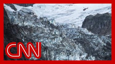 Giant ice chunk from glacier sparks forces evacuations 6